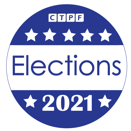 CTPF 2021 Trustee Election Logo